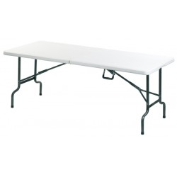 Table pliante 184x76x74 cm