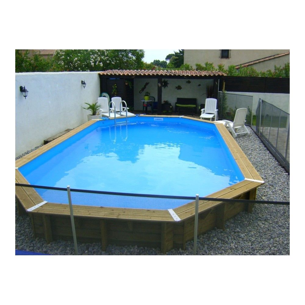 Piscine bois en kit for Piscine en kit bois