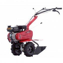 Motoculteur 6,5 CV - 196 cc - Largeur de travail 75 cm - 6 fraises / roues agraires / Contrepoids 16 kg inclus