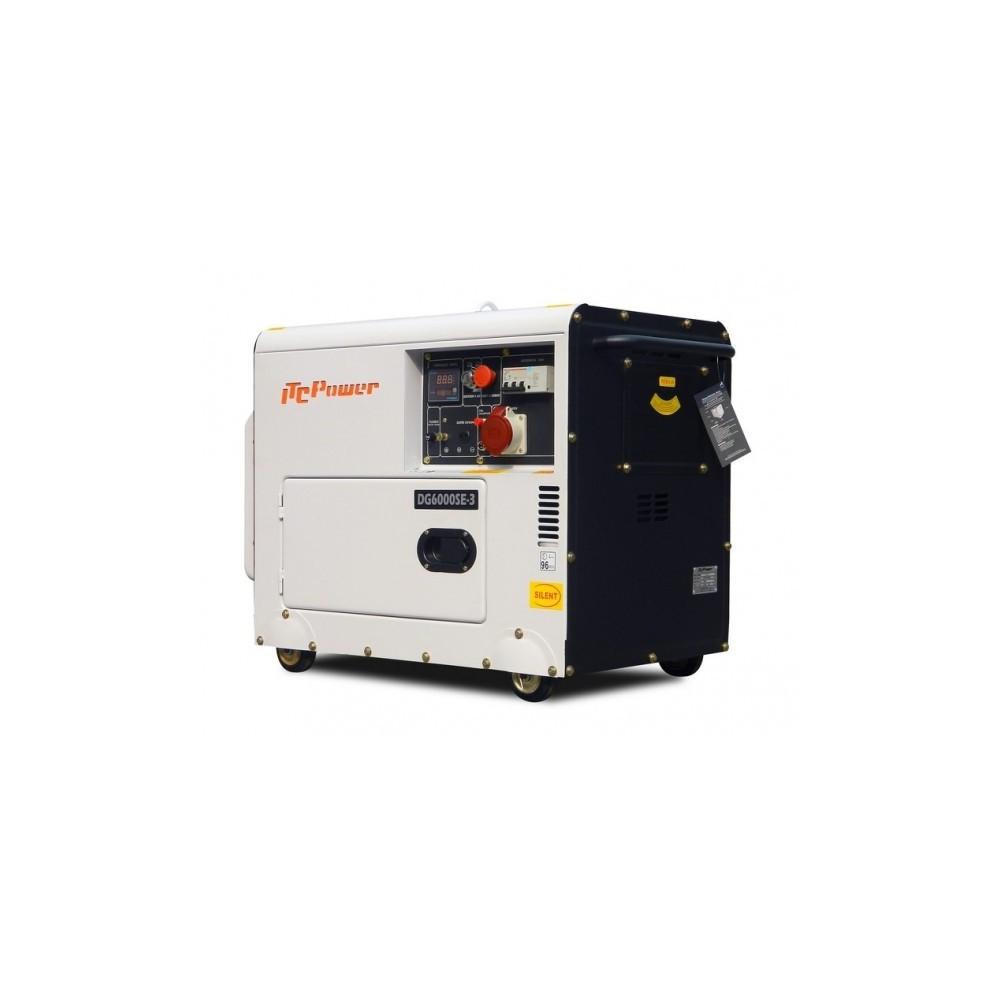 Groupe lectrog ne diesel 5500w triphas dg6000se3 - Groupe electrogene triphase diesel 10 kw ...