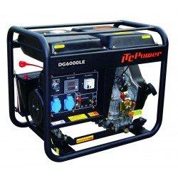 Groupe électrogène diesel 6,5 kW moteur diesel AVR DG7500LE