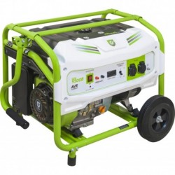 Groupe électrogène essence 5500W avec kit chariot