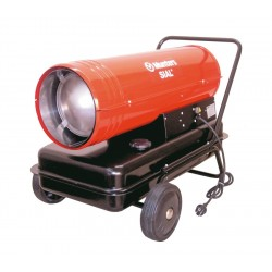 Chauffage de chantier à gaz 43 kW