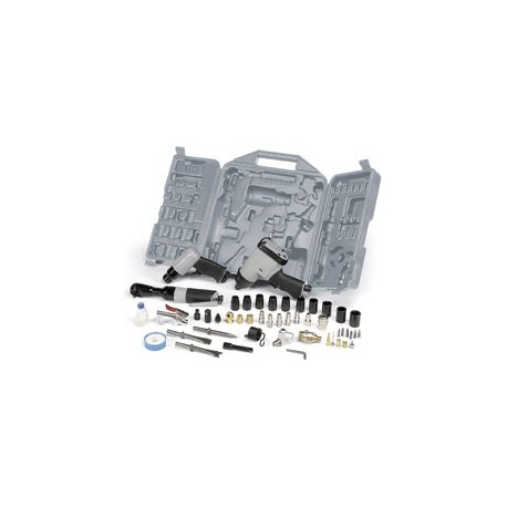 Coffret outillage pneumatique 49 pièces pour compresseur