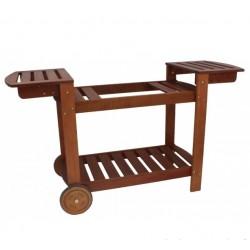 Chariot bois pour plancha SIMOGAS 60 - 75 cm