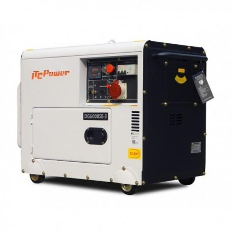Groupe électrogène diesel 5500W triphasé DG6000SE3