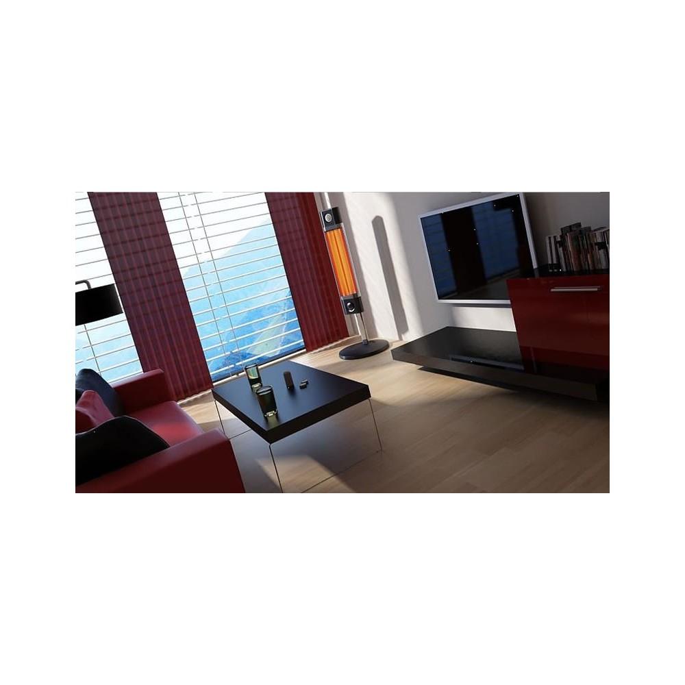 chauffage infrarouge sur pied 1700w. Black Bedroom Furniture Sets. Home Design Ideas