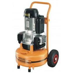 Compresseur 24L 230V sans huile bicylindre
