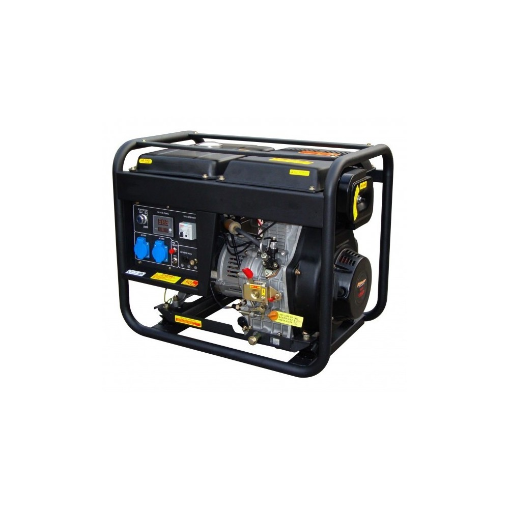 Groupe lectrog ne diesel 5 5kw itcpower for Groupe electrogene diesel demarrage automatique