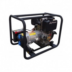 Groupe électrogène diesel 7 kva monophasé