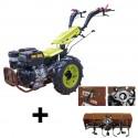 Motoculteur Bulldog PRO 13 CV avec rotovator