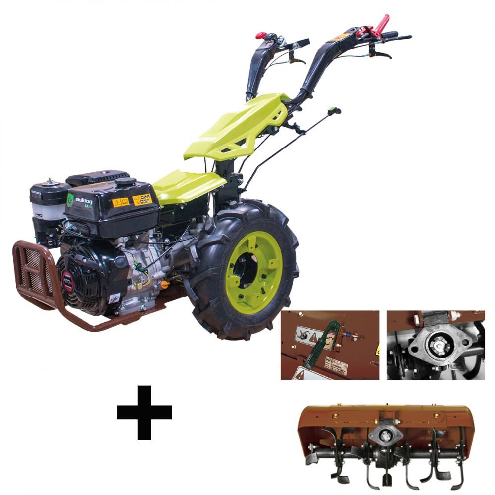 motoculteur bulldog pro 13 cv diesel avec rotovator 65 cm et d u00e9marrage  u00e9lectrique