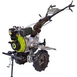 Motobineuse diesel 6 cv - 296 cc