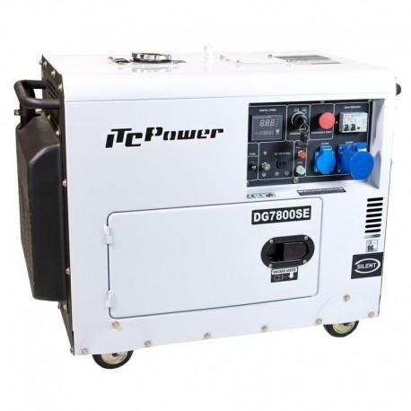 Groupe électrogène diesel insonorisé 6.5Kw 230V AVR