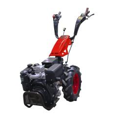 Motoculteur Bulldog PRO 10 CV diesel avec rotovator 65 cm et démarrage électrique