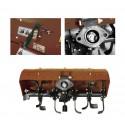 Fraises arrières extensible 80 cm pour porte outils BULLDOG G1300R / D900R