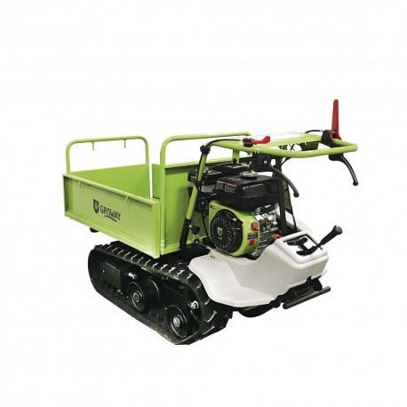 Brouette moteur à chenilles OHV 7 CV capacité 320 kg