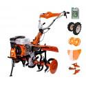 Motoculteur thermique Professionnel 212 cc RURIS 753 avec Full Pack