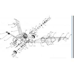 Vis de fixation couteau pour GY150WS BR150LP